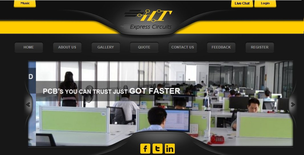 H&T Global Circuits launches web-based division – H&T Express – to