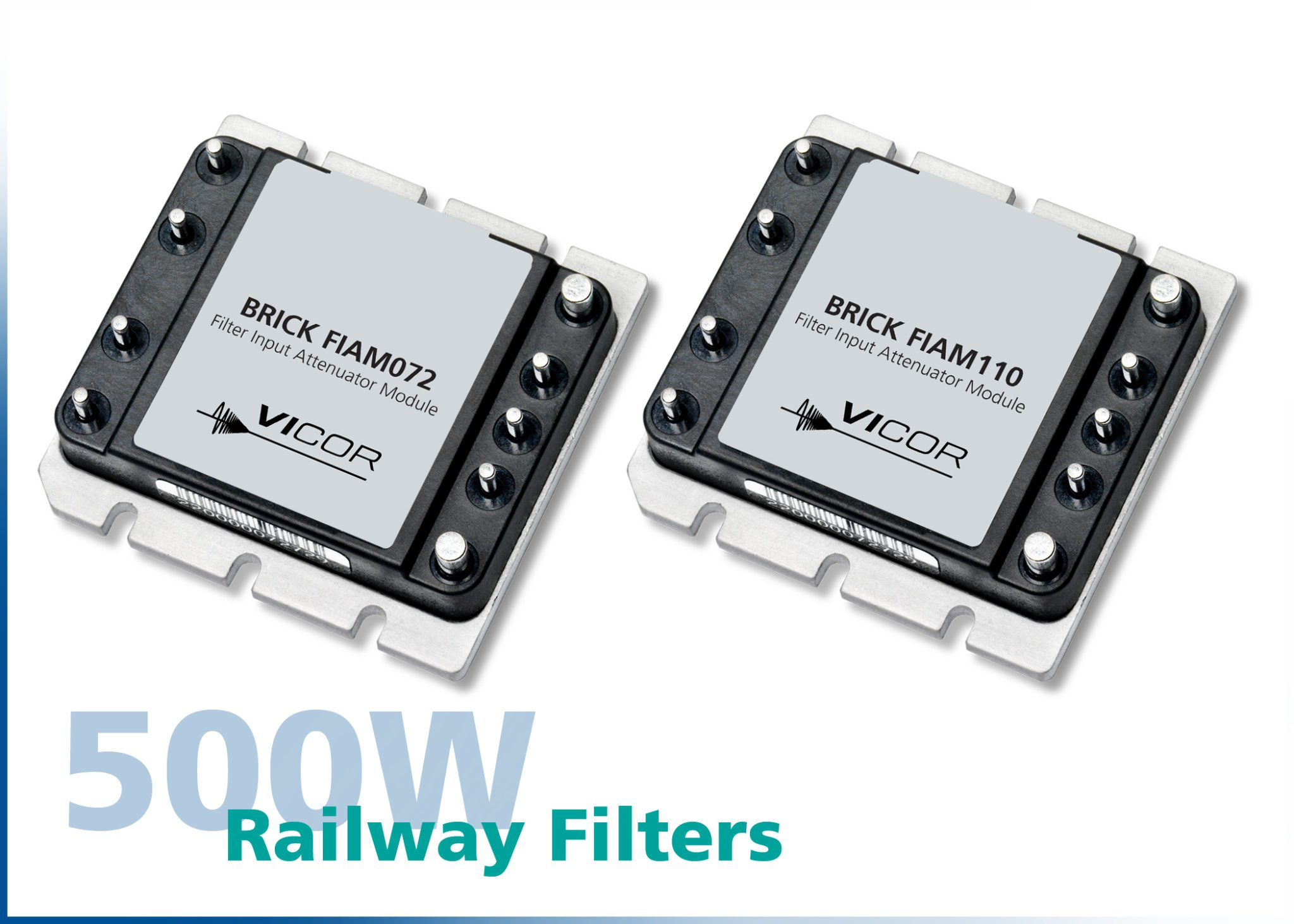 Vicor introduces new FIAM Filter Modules for DC-DC railway