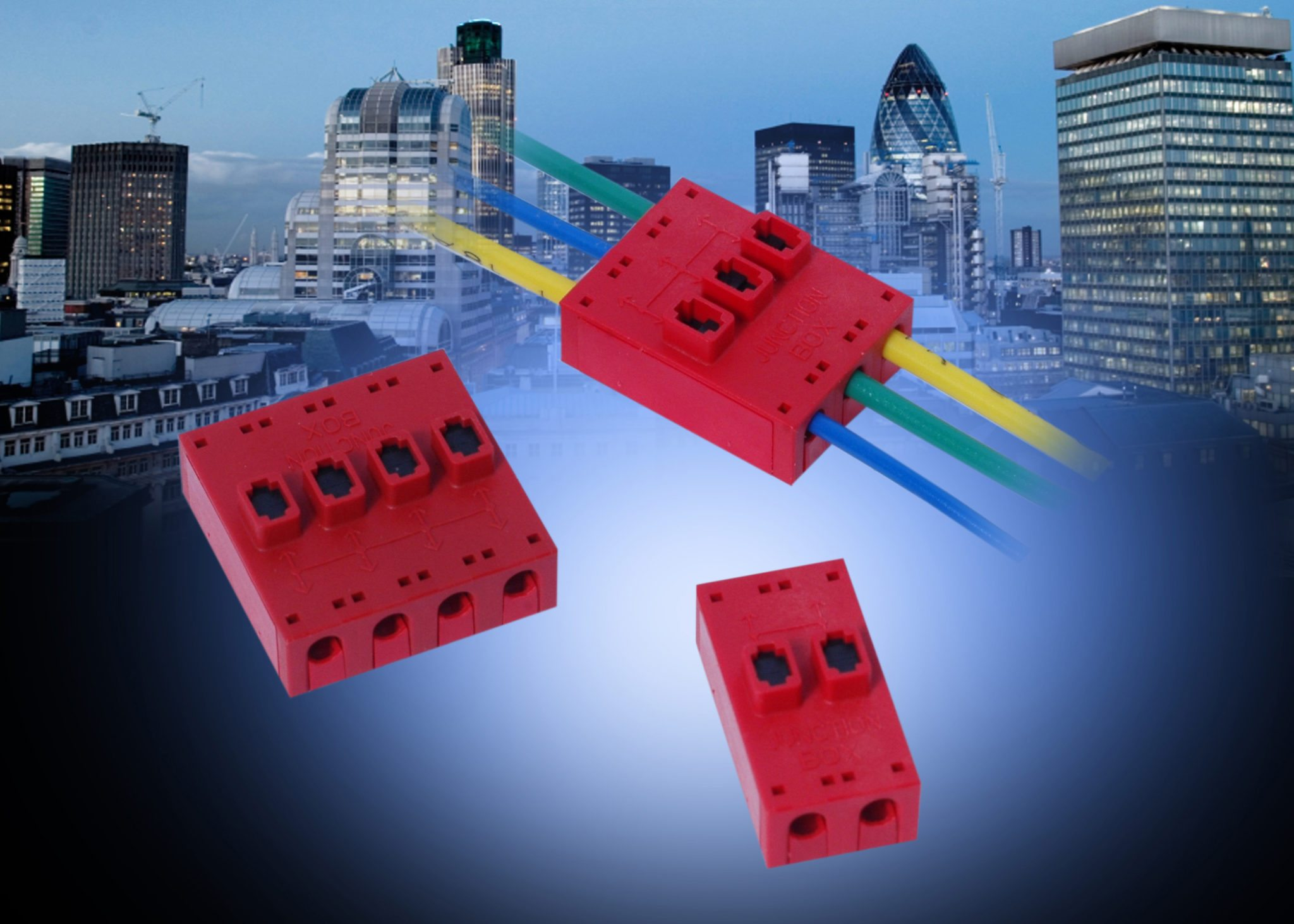 AVX\'s wire-to-wire junction box connector enables a single power ...