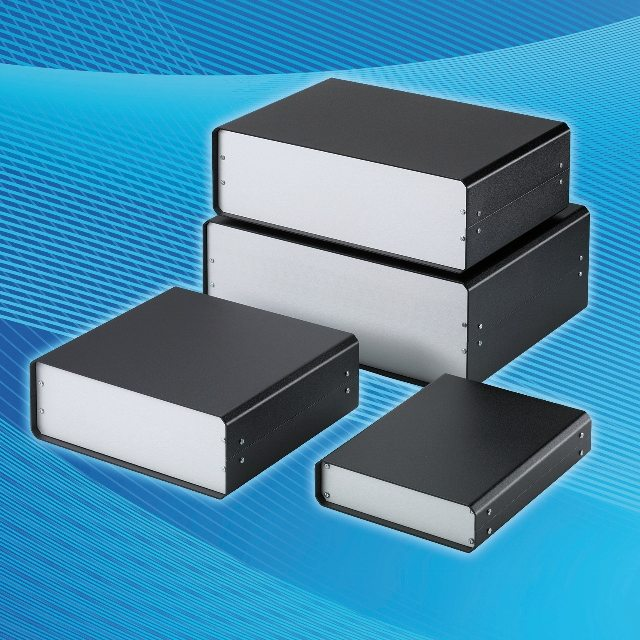 Portable Electronic Enclosures : Extended range of unicase instrument enclosures news