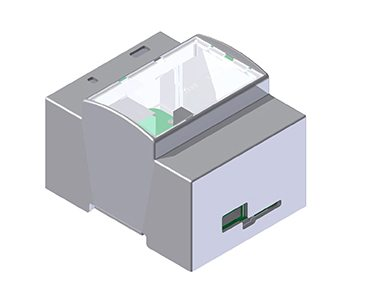 Hitaltech introduce the DIN Rail mounting Modulbox for