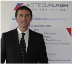 Asteelflash Group announce the appointment of Pierre Laboisse