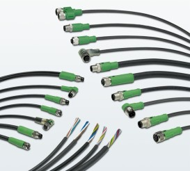 Assembled sensor/actuator cables with PVC design