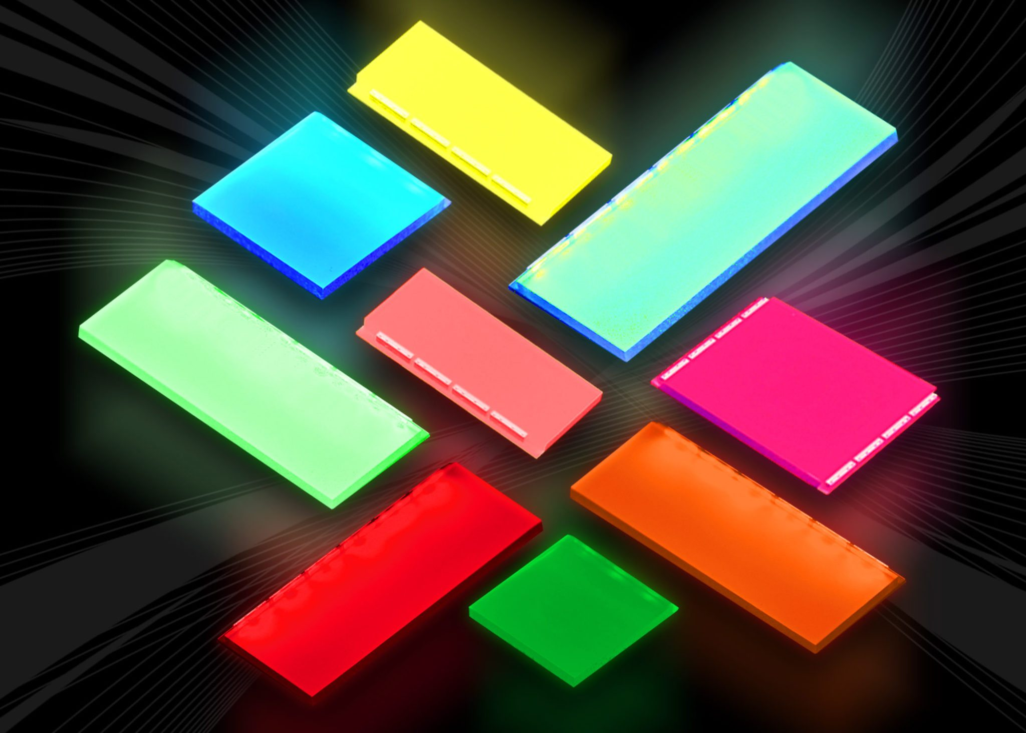 Omc Unveils A Rainbow Of Next Generation Led Backlight Colours With