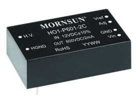 Fixed input, non-isolated adjustable output power supply by MORNSUN