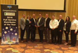 Future Electronics Named Distributor of the Year by Vishay
