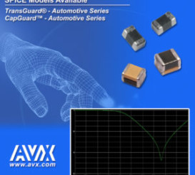 AVX Releases New SPICE Models for its CapGuard™ Automotive & TransGuard® Series Varistors