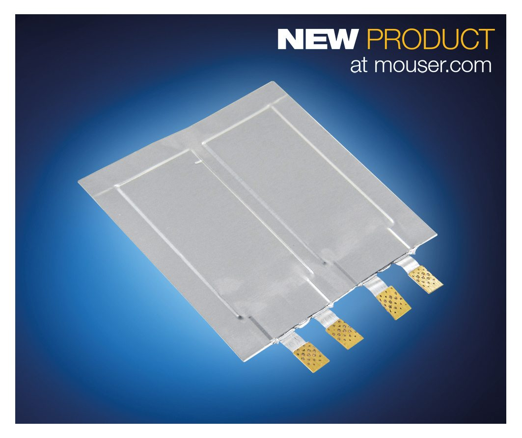 Mouser Stocking Muratas Dmh Ultra Thin Supercapacitor For Wearables Introduction To Electronic Components Inc The Industrys Leading New Product Npi Distributor With Widest Selection Of Semiconductors And