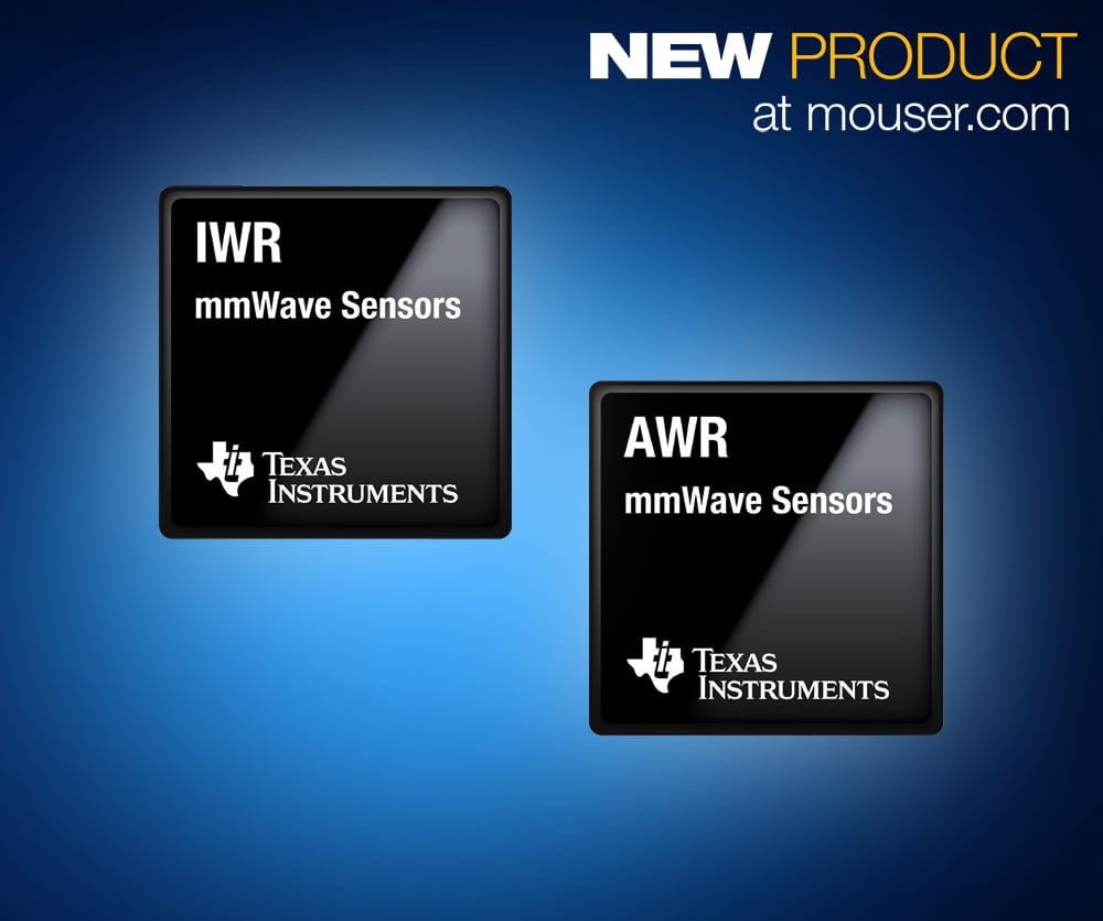 Mouser Electronics Now Stocking Texas Instruments' Award-Winning