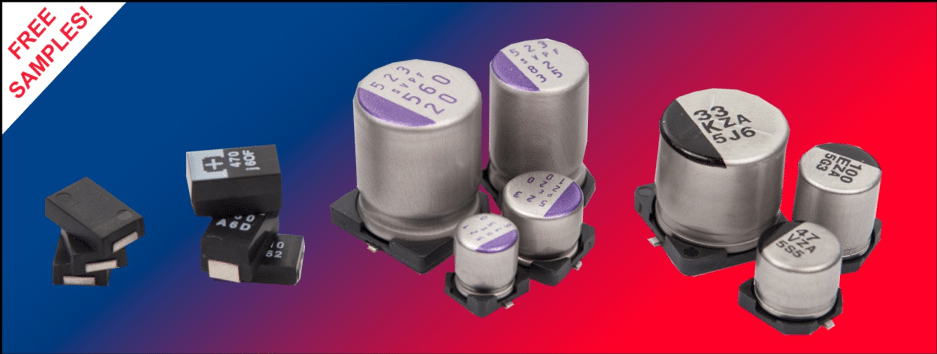 Panasonic Polymer Capacitors Offer Good Replacement For