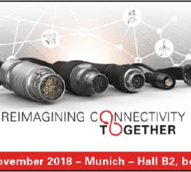 Fischer Connectors demonstrates its long-term vision for connectivity with breakthrough technological partnerships and cross-market customer applications at Electronica