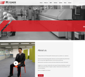 Riding the Crest of a Wave, Ryder Industries  Reflects Their Success in the Launch of Their New Website
