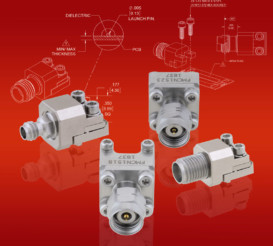 New Millimeter-Wave Removable End Launch PCB Connectors Offered with 4 Different Interfaces