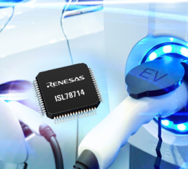 Renesas Electronics' 14-Cell Li-ion Battery Management IC Maximizes Battery Cell Life