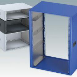 "Specifying TECHNOMET 19"" Rack Enclosures in custom sizes up to 16U"