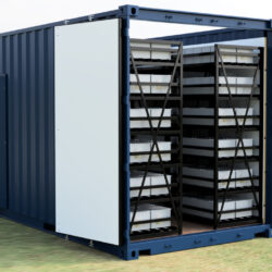 May contain a flexible power alternative: Containerised UPS solutions
