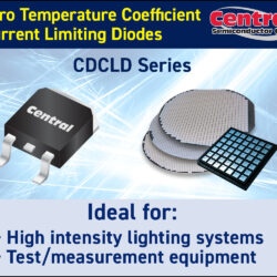 Central Semiconductor's Zero Temperature Coefficient (ZTC) CDCLD Series Current Limiting Diodes